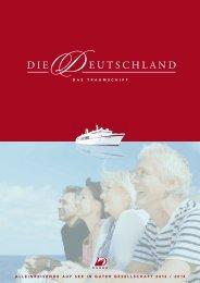 KEINEN EinzElkabinEn- zuschlag - Peter Deilmann Reederei