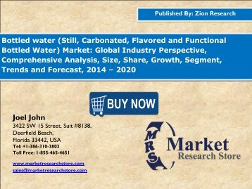 Global Bottled Water Market