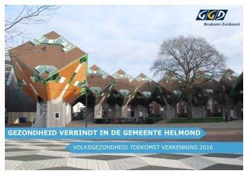 GEZONDHEID VERBINDT IN DE GEMEENTE HELMOND