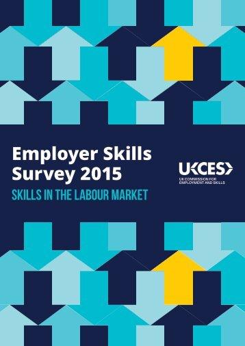 Employer Skills Survey 2015