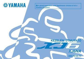 Yamaha XJ6-N - 2009 - Mode d'emploi Magyar