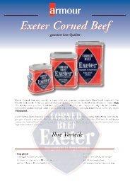Exeter Corned Beef - garantiert beste Qualität - Grocholl