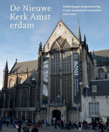 De Nieuwe Kerk Amsterdam kunstenplan 2016