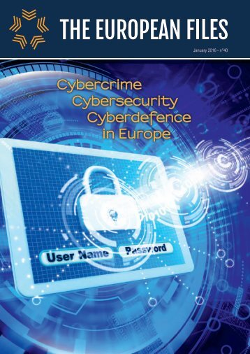 Cybercrime Cybersecurity Cyberdefence in Europe