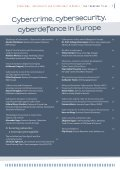 Cybercrime Cybersecurity Cyberdefence in Europe - Page 5