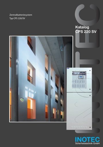 Katalog CPS 220 SV