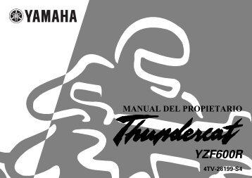 Yamaha YZF600 - 2000 - Mode d'emploi Español
