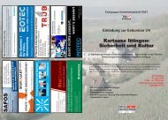 Einladung zur Exkursion U4 Kartause Ittingen - Safety-Plus ...