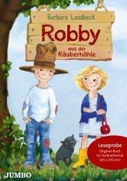 Barbara Landbeck: Robby aus der Räuberhöhle