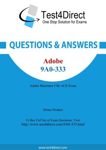 9A0-333 Real Exam BrainDumps Updated 2016