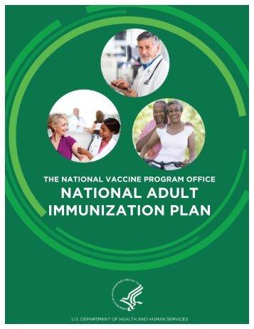 NATIONAL ADULT IMMUNIZATION PLAN