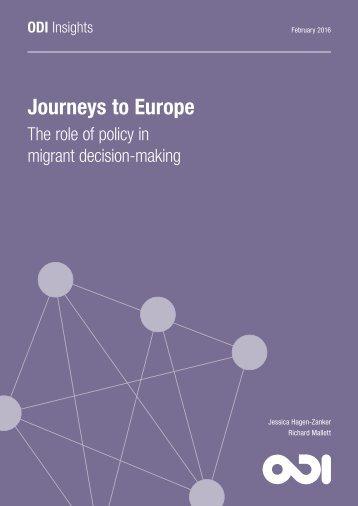 Journeys to Europe