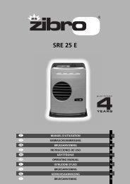 SRE 25 E - Zibro