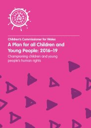 A Plan for all Children and Young People 2016–19