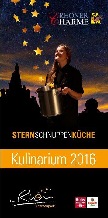 Rhöner Charme Kulinarium 2016