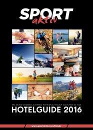 SPORTaktiv Hotelguide 2016