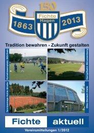 Vereinsmitteilungen 1/2012 - TSV Fichte Hagen 1863 e.V.