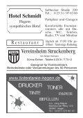 Vereinsmitteilungen 1/2012 - TSV Fichte Hagen 1863 e.V. - Page 6