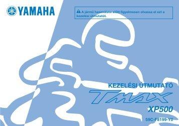 Yamaha TMAX - 2012 - Mode d'emploi Magyar
