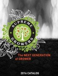 Supreme Growers Catalog 2016
