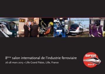 Brochure de SIFER 2013