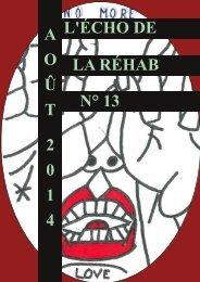 Echo de la Réhab - N°13 - Aout 2014