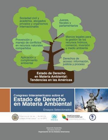 Estado de Derecho en Materia Ambiental Tendencias en las Américas