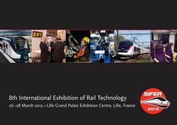 8th International Exhibition of Rail Technology - Sifer 2013
