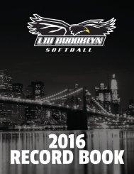2016 RECORD BOOK