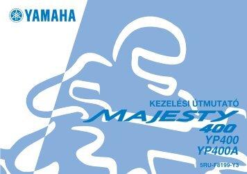 Yamaha MAJESTY400 - 2006 - Mode d'emploi Magyar