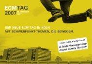 pentadoc ag - Der ECM-Tag ist der bedeutendste und größte Event ...