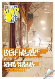 WIP Stadtteil-Magazin Nr. 1/2016