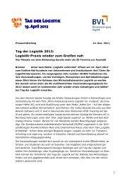 Logistik-Praxis wieder zum Greifen nah - CHS CONTAINER Handel ...