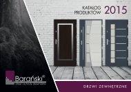 Barański katalog drzwi zewnętrzne 2015