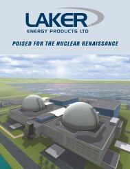 POISED FOR THE NUCLEAR RENAISSANCE - Laker Energy ...