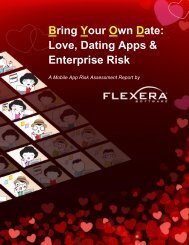 Bring Your Own Date Love Dating Apps & Enterprise Risk