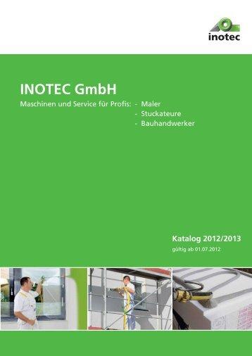 INOTEC GmbH - Maschinen und Service für Profis: - Maler