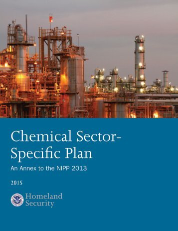 Chemical Sector- Specific Plan