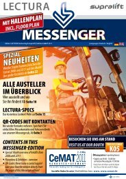 CeMAT-Messenger hier zum Download - Flurfoerderzeuge.de