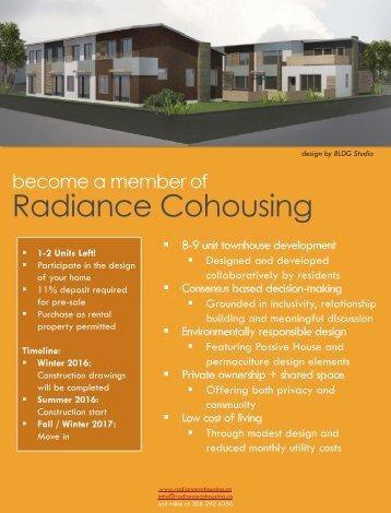 Radiance Cohousing