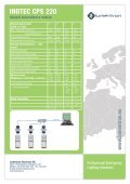 INOTEC CPS 220 - Lumentron Electronic Kft. - Page 3