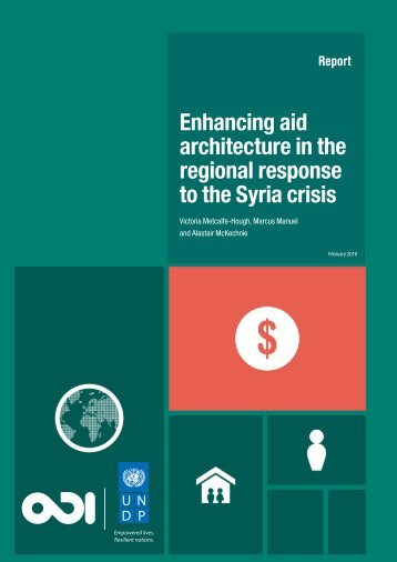 Enhancing aid architecture in the regional response to the Syria crisis