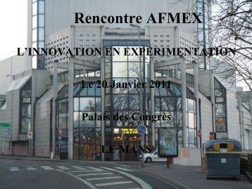 Rencontre AFMEX
