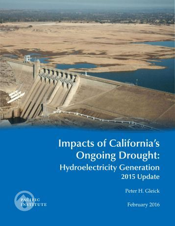 Impacts of California's Ongoing Drought