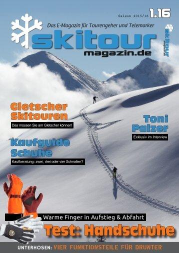Skitour-Magazin 1.16