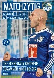 FC LUZERN Matchzytig N°9 15/16 (RSL 20)