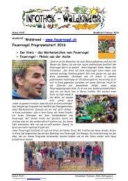Feuervogel Genossenschaft - 20 Jahre - Projekte für Mensch und Natur