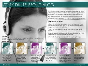 STYRK DIN TELEFONDIALOG