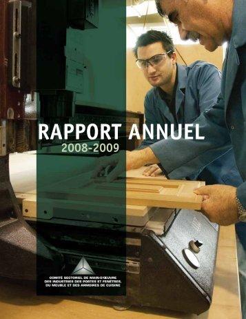 Rapport annuel 2008-2009 - Clicemplois.net