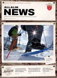 Allalin News Nr. 3/2016 - SAAS-FEE | SAAS-GRUND | SAAS-ALMAGELL |SAAS-BALEN